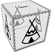 Preisvergleich für Azeeda Groß 'Tipi' Klar Sparbüchse / Spardose (MB00071304)