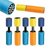 Smart Planet Happy 5X Wasserspritzpistole Mini Schaumstoff Wasserpistole 5er Set - Wasser Spritzpistole - das Spielzeug für Ihr Garten Schwimmbad Hallenbad