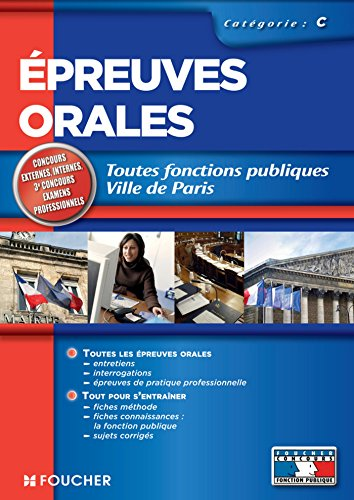 Epreuves orales catégorie C (Concours Fonction Publique)