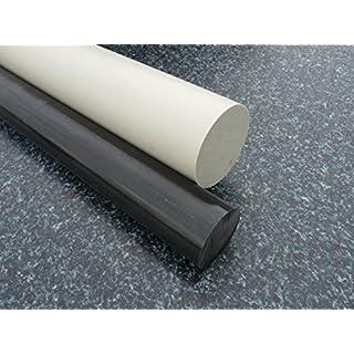 Rundstab aus PP grau Ø 30 mm, Lang 1000 mm Kunststoffrundstab