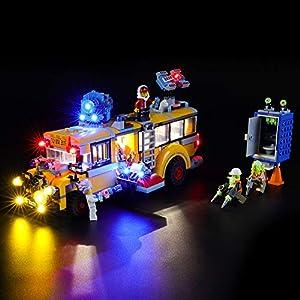 BRIKSMAX Kit di Illuminazione a LED per Lego Hidden Side Autobus di Intercettazione Paranormale,Compatibile con Il… 0781621989225 LEGO