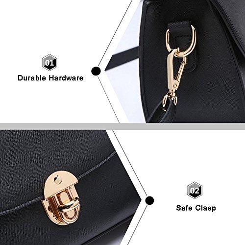 Borsa a tracolla trasversale a forma di borsa a tracolla elegante Yoome per borsa a tracolla in borsa da borsetta - Esercito Marina Militare