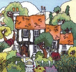 Cottage Garden 1 Cross Stitch Kit