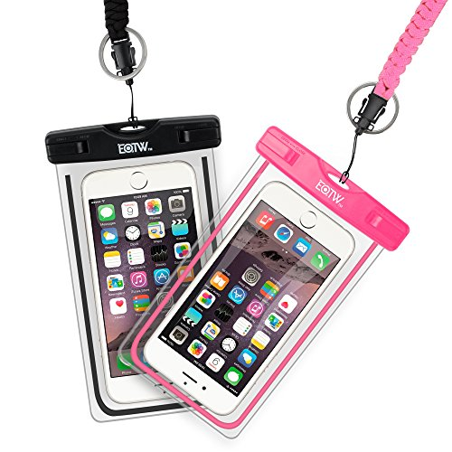 EOTW Funda Impermeable Móvil 2 Pack Para iPhone 6 6S Plus 5 Samsung S7 S8 J7 2a8ef9906fa