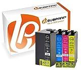 Bubprint 4 Druckerpatronen kompatibel für Epson T2701-04 T2711-14 27XL für Workforce WF-3620DWF WF-3620WF WF-3640DTWF WF-7110DTW WF-7610DWF BK C M Y