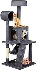 Yaheetech Katzenkratzbaum Kratzbaum Kletterbaum für Katzen Sisal 133 cm