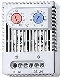 finder Schaltschrank-Thermostat 7T.92.0.000.2503 1Ö, 1S, 5A Thermostat (Schaltschrank) 8012823350622