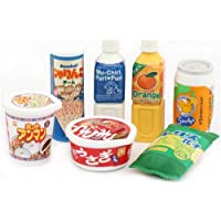 Set 7 gomme x cancellare Iwako a forma di snack giapponesi