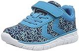 Hummel Jungen Crosslite Print Sneaker JR Hallenschuhe, Blau (Algiers Blue), 29 EU