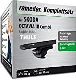 Rameder komplett-Set Dachträger WingBar für Skoda Octavia Combi (118176â 11196â 187)