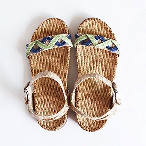 XY&GKBettwäsche Sandalen Frauen alleinigen Foot Pads der Sommer Damen Sandalen, komfortabel und schön - 38