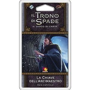 Asmodee Italia-Juego de Tronos LCG 2nd Ed. expansión de la Llave del arcimaestro, Color, 9229