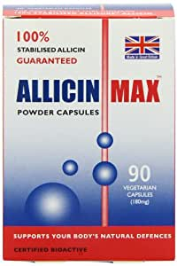 Allicinmax SGK 100% Pure Capsules - Pack of 90