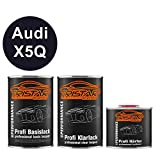 TRISTARcolor Autolack Set Dose spritzfertig Audi X5Q Scubablau Metallic/Uniformblau Metallic Basislack + 2K Klarlack 2,5L