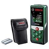 Bosch laserafstandsmeter PLR 30 C (App-functie, 3x AAA batterijen, beschermtas, meetbereik: 0,05 - 30 m)