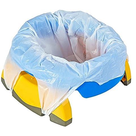 Coscelia Multi-Fonction Réducteur de Toilettes Siège de Pot Portable Chambre Voiture Voyage pour Bébé Bambin Entraîneur de Propreté (Bleu)