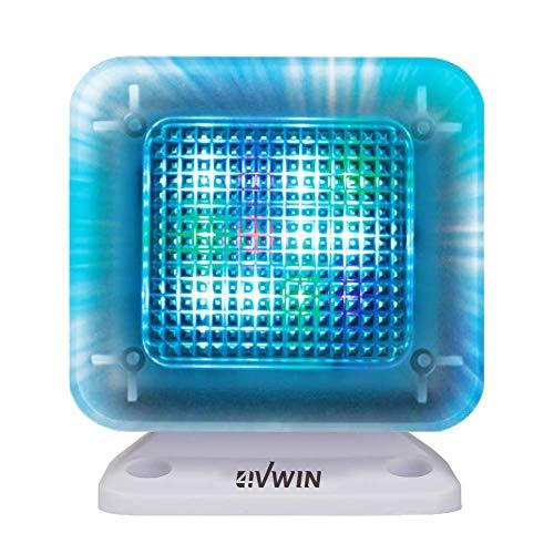 4VWIN Home-Security LED TV-Simulator mit Eingebaut Digitaler Timer und Nachtlicht