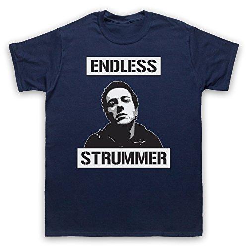 Inspiriert durch Joe Strummer Endless Strummer Unofficial Herren T-Shirt Ultramarinblau