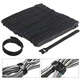 OUNONA 100pz Tiras de Velcro para Organizar Cables