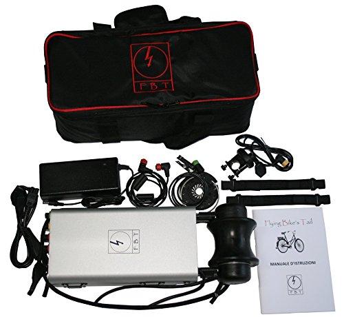 Flying Bike's Tail. - Kit de conversión en Pedalec E-bike bicicleta electrica, utilizable para todas las bici y bicicletas tradicionales. No requiere instalación. BikesTail.com