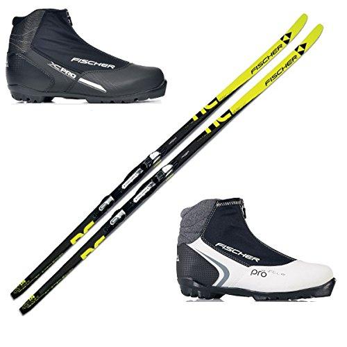 Set de Esquí de Fondo Ski Cruising Set Fischer Orbiter Corona+ Bdg + Zapato NO Wax Ski 2014/15 - 42