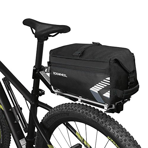 ROSWHEEL 6L Satteltasche Sitz Tasche Multifunktions Fahrrad Sport Outdoor Rear Seat Trunk Bag Zurück Schulter Handtasche