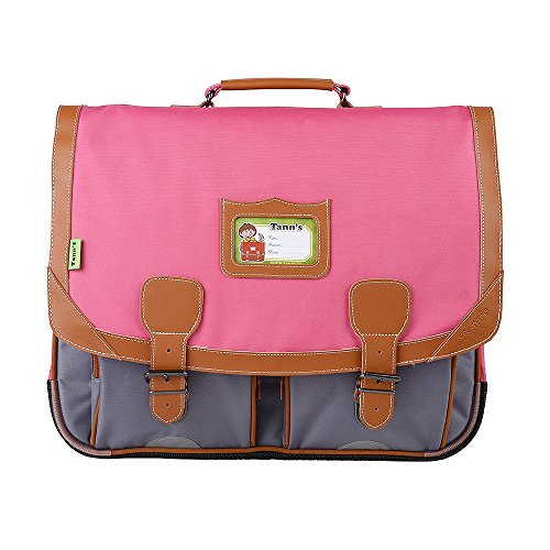 Cartable 41 Fushia-gris Tann's ICONIC