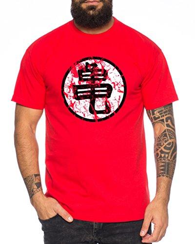 WhyKiki Sign Goku Roshis Turtle School Camiseta de...