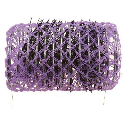 Sibel - Bigoudis Brosse - Taille : 36Mm - Couleur : Violet - Contenance : 12Pcs