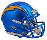 NFL Los Angeles Chargers Alternate Blaze Speed Mini Helmet