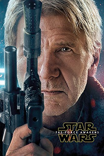 empireposter Star Wars EP7 Han Solo Episode 7 Poster Plakat Größe 61x91,5cm, Papier, bunt, 91.5 x 61 x 0.14 cm