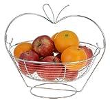 FG-Trading Edler Flaschenkühler Metall–Obstkorb–Metall–Schale für Obst–Obst Korb Halterung für Orangen, Äpfel und Obst