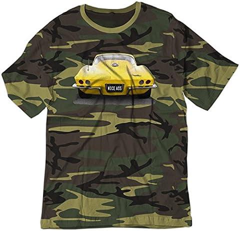 BSW Herren T-Shirt Gr. X-Small, Camouflage