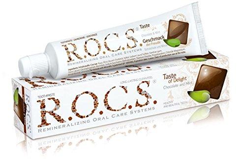 R.O.C.S. Erwachsene Schokolade und Minze Zahnpasta / ROCS