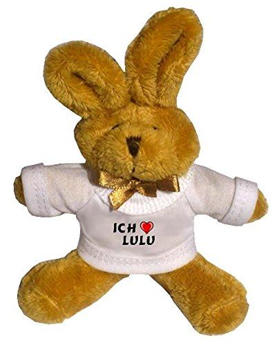 plusch-hase-schlusselhalter-mit-t-shirt-mit-aufschrift-ich-liebe-lulu-vorname-zuname-spitzname