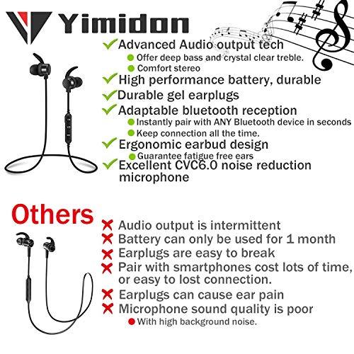 Zoom IMG-1 yimidon cuffie wireless bluetooth 4