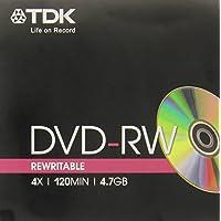 TDK DVD-RW 4.7 GB 4X, 8 cm, 1 unidad