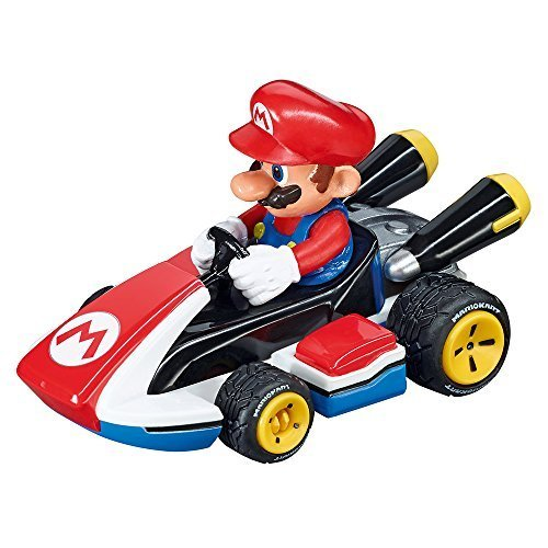 Carrera GO 64033 Mario Slot Car Racing Vehicle by USA (Mario Carrera Slot Car)