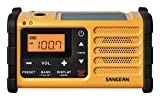 Sangean MMR-88 tragbares Kurbelradio gelb