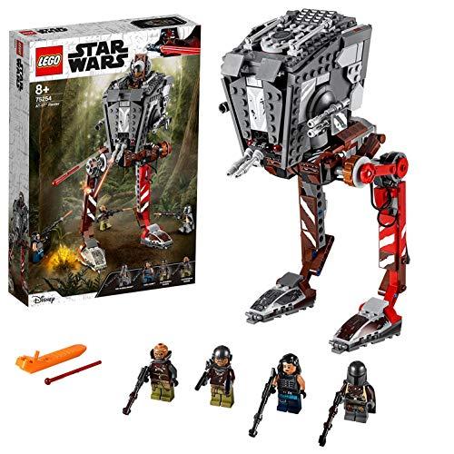 LEGO Star Wars TM - Asaltador AT-ST, Set de Construcción Inspirado en el Mandalorian, Incluye Minifiguras con Armas de… 4
