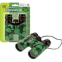 Wild Republic - Binocular, prismáticos de juguete con diseño cocodrilo, 12 cm (85176)