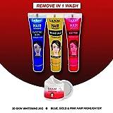 Lilium Herbal Temporary Hair Highlights, Multicolour 20 g Each Pack of 3