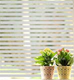 Coavas No Kleber Static Dekorativ Privatsph?re Fenster Film Selbstklebend Glas Film Frosted Fenster T?nung Glasmalerei Fensterfolie F¨¹r Badezimmer Home K¨¹che B¨¹ro