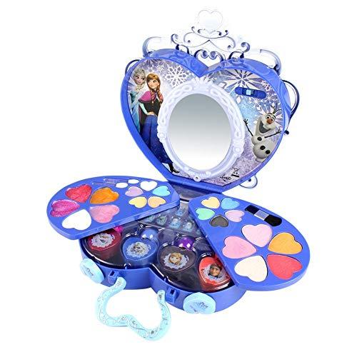 39St Schönheit Spielzeug Disney Frozen Series Make up Set Mädchen Kinderschminke Koffer Spielzeug-Set (Disney Frozen Make Up)
