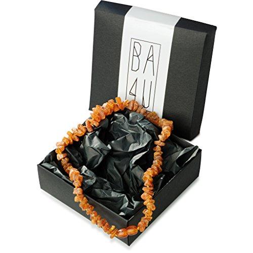 ★ BA4U Bernstein Halsband AC40 ★ 40 cm BA4U Bernsteinkette für Hunde und Katzen ★ Zeckenhalsband ★ Zeckenschutz ★ 100{1822c7821733db80abe855d1c3bd2a574606d7317302648e3f55f9cd231ec1e0} authentisches und natürliches Produkt ★