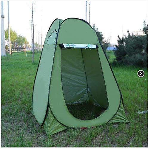 linfei Outdoor Angeln Markise Wasserdicht Sonnencreme Camping Dressing Feld Toilette Einfaches Zelt -