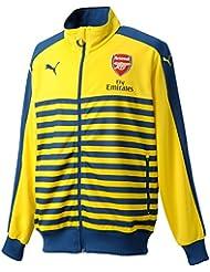 PUMA Jacke AFC T7 Anthem Jacket with Sponsor - Prenda, color azul (estate blue/empire yellow), talla xl
