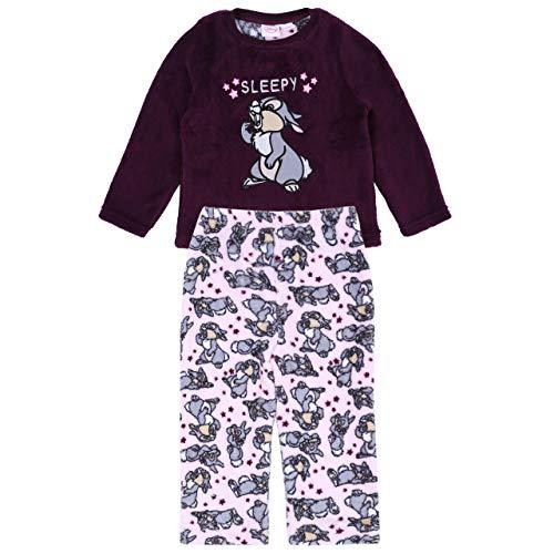 Lila Schlafanzug mit Klopfer von Bambi Das Kleine Renntier Walt Disney - 4-5 Jahre 110 cm