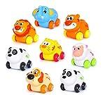 Bewegliches Aufziehspielzeug für Babys / Kleinkinder, Tierdesign, für Mädchen und Jungen, beweglicher Kopf