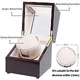 [100% Handgemacht] CHIYODA Uhrenbeweger für 1 Uhr Watch Winder mit Mabuchi Motor - 3